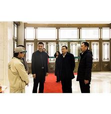 长春九台经济开发区、卡伦湖街道党工委领导莅临兰舍产业园送温暖