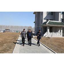 九台区副区长李雪峰等领导莅临赢8娱乐1442参观指导