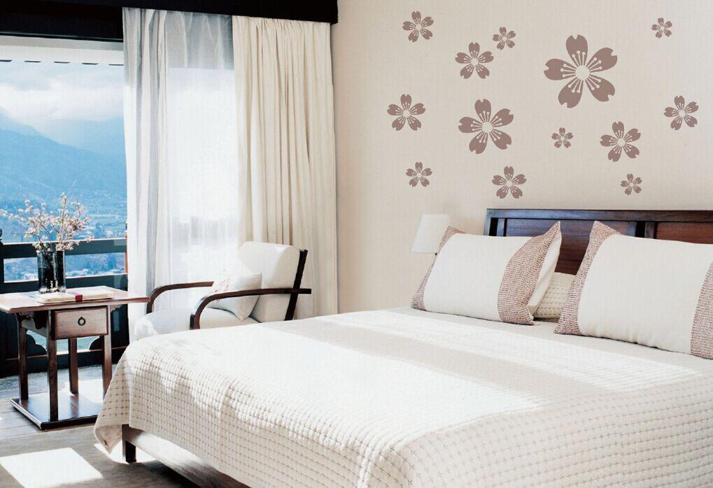 兰舍硅藻泥卧室欧式效果图片